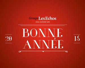 Groupe les Echos     Vœux responsive