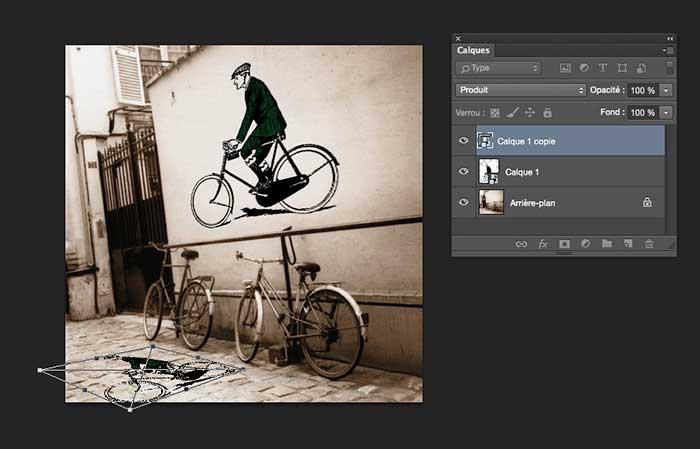 Calque dynamique sous Photoshop