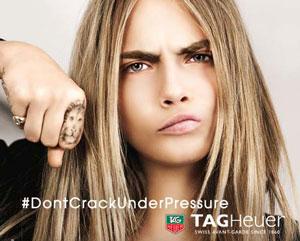 Exécution et pré-presse, campagne TAG Heuer