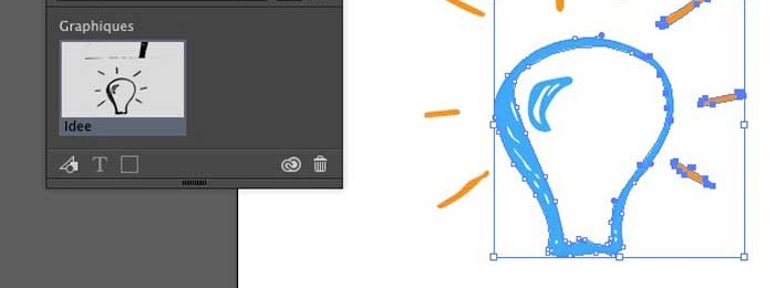 Adobe Shape, de l'iPhone vers Illustrator (ou Photoshop)