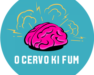 "Logotype ""O cervo ki fume"""